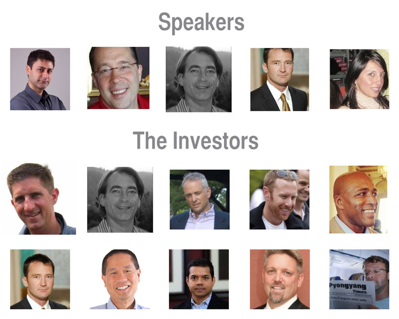 Life 3.0 speakers and investors